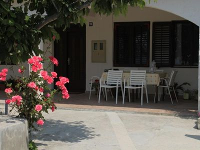 Photo for Two bedroom apartment near beach Metajna (Pag) (A-6466-h)