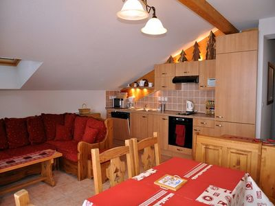 """Photo for Recent residence """"Les Chalets de Marie"""", located in the Panthiaz area, 150 meters from the Braitaz c"""