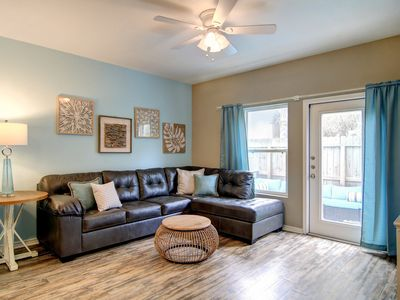 Photo for Dog-friendly condo by the beach w/ a furnished patio, shared pool, & playground