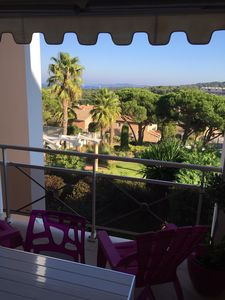 Photo for APARTMENT 2 BEDROOMS SEA VIEW POOL GIENS