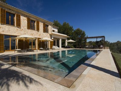 Photo for Modern country house for holidays in paradise with its own tennis court