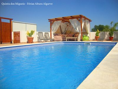 Photo for Quinta dos Migueis - Rustic Villa, private pool and close to Beaches and Golf