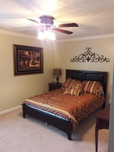 Photo for Master bedroom  & bathroom