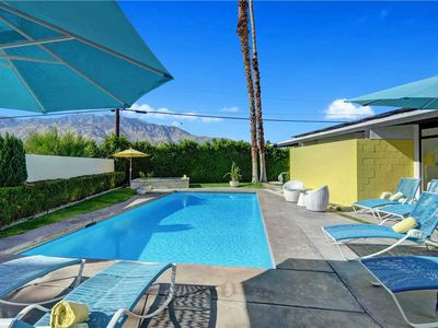 Photo for Sleek & Hip Mid-Century Home in El Rancho Vista Estates, Nicely Updated + Beautiful Pool & Spa!