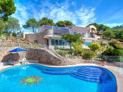 Photo for Vacation home Del sol in Tossa de Mar - 8 persons, 3 bedrooms