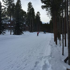 Very Easy Ski in and Out.  No driving necessary!