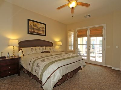 Photo for Spacious Upstairs Legacy Villas Studio with a King Bed and a Private Balcony!