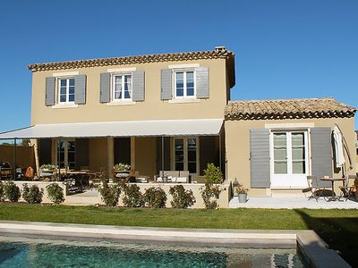 Photo for Vacation home Les Vignes  in Saint Saturnin d'Apt, Luberon - 8 persons, 4 bedrooms