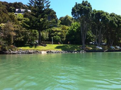 Photo for Waterfront cottage, Te Wahapu Bay, Russell.