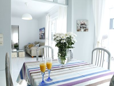Photo for Apartment near the beach. Ideal for family or group of friends