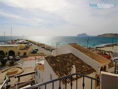 Photo for Central Moraira - Renovated 2 bedroom - sea view - 5 min from the beach