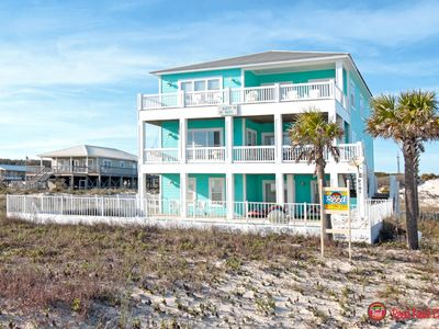 Photo for Happy Days - Beautiful 6 br / 6 ba Beachfront House With Private Pool, Sleeps 22