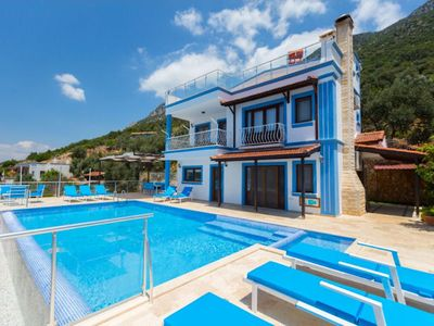 Photo for Villa Kalkan Rose is a beautiful villa, furnished to a very high standard and uniquely every room of