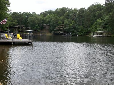 Photo for Cute Cozy Lake Front Condo End of Summer Special!