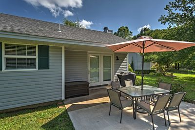 Up to 4 travelers can rest easy in this 2-bed, 2-bath vacation rental cottage.