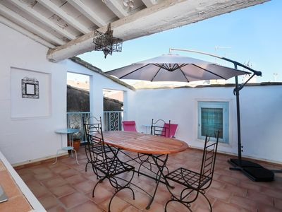 Photo for Charming traditional town house in the heart of Marseillan