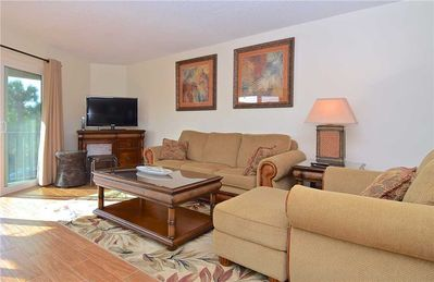 Photo for Indian Sand D2, 2 Bedrooms with Pool, Near Bay and Beach
