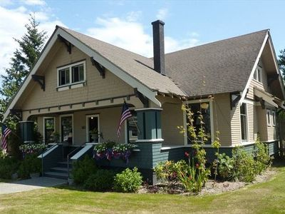 Photo for Groups of up to 21.Historic Home, Beautifully Restored in Friday Harbor