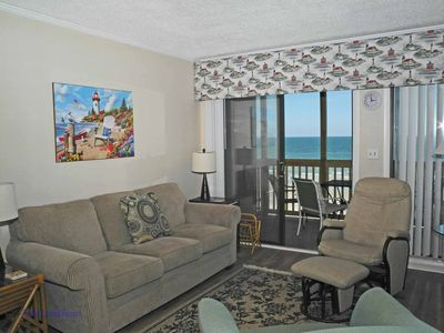 Photo for Tilghman Beach and Racquet Club Unit: 302! Oceanfront 3 Bedroom Condo. Book now for best rates!