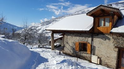 Photo for Apartment located in an authentic village at the foot of large ski resort
