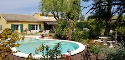 Photo for Villa with Plage® pool, and large shaded garden in Provence and Luberon.