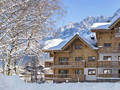 Photo for Modern furnished apartment at the foot of the Mont Blanc