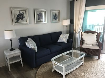 Photo for Beachfront 2bd/2bth with Beach Views, Unit B27, fresh updates!