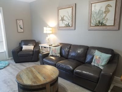 Photo for Welcome to Paradise! Newly Remodeled and only a 3 Minute Walk to the Beach!