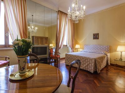 Photo for Central between Spanish Steps and Trevi Fountain 2 double bedrooms WI FI