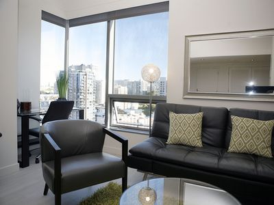 Photo for Downtown Lux 1BD F2 - One Bedroom Apartment, Sleeps 3