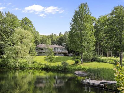 Photo for Weekend Rental in Stowe, Beautiful views, Four Bedrooms, Open floorplan, outdoor