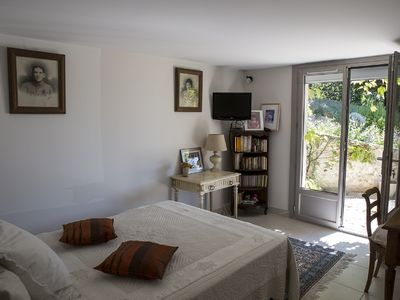 Photo for Room in Mas dauphinois, panoramic view Alps