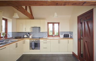 Spacious kitchen at the Vine House