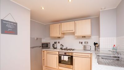 Photo for Central Leeds 1 bedroom Apartment with river views