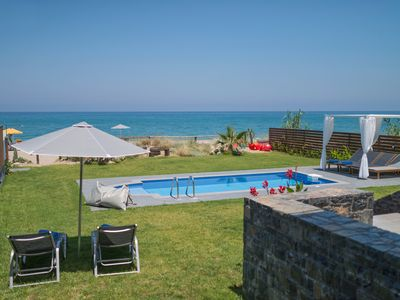 Photo for Villa al Mare.The sea at your feet!  CAR included for May and June!!!