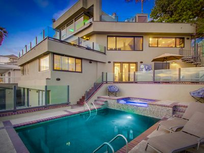Photo for Mission Bay water front home with incredible views, pool, spa and the beach!