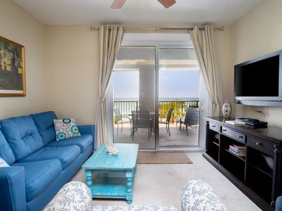 Photo for Gulf View from 4 Floors Up! Plenty of Amenities For The Entire Family!