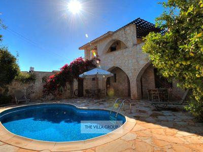 Photo for Neo Chorio Villa, Sleeps 6 with Pool and Air Con