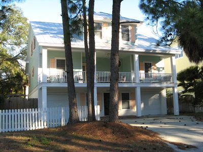 Photo for REDUCED RATES SUMMER 2019 - Modern Tybee Beach House - Hot Tub - FREE Wi-Fi