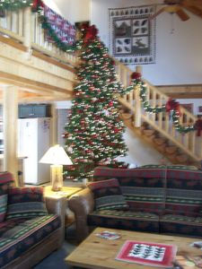Giant Christmas Tree in the Great Room