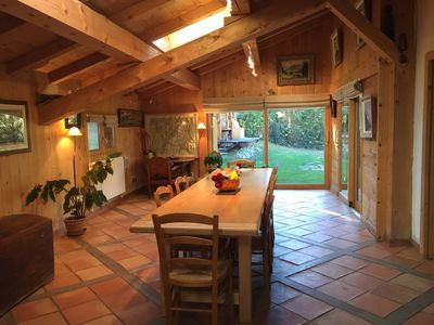 Photo for Family chalet Saint-gervais center 10 people 240 m2