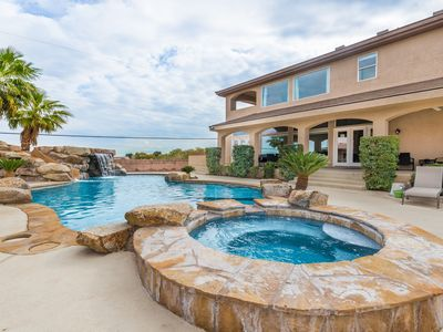 Photo for See 777RENTALS - West Strip Paradise - Casita, Pool, Spa, Incredible Strip View