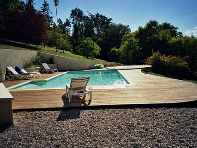 Photo for Beautiful large house with fabulous private  pool, in the heart of the Dordogne