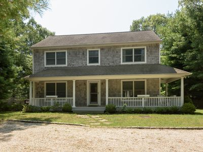 Photo for Beautiful three bedroom, two and one half bath, shingled beach house.