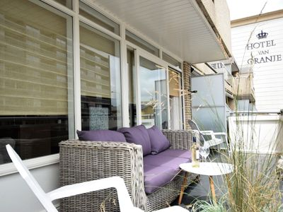 Photo for Bright and spacious apartment on the boulevard of Noordwijk. Top location
