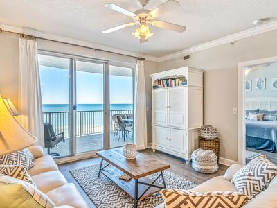Photo for Emerald Isle 501 - END UNIT GULF FRONT 2 BDRM/2 BATH -BEACH SERVICE INCLUDED