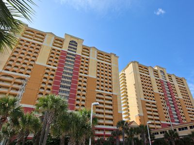 Photo for Calypso Resort and Towers E1101 // Ready, set book for summer!