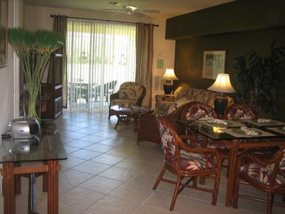 Photo for Promotion rate for low season, 1st floor 2 br gorgeous Golf Fairway Villa