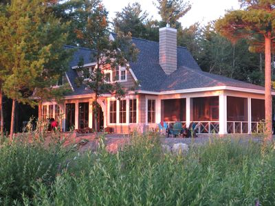 Hamptons Meets the Northwoods in Brainerd, MN Spectacular Lake Home New 2016.