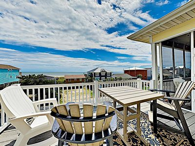 Balcony - Welcome to Ocean Isle Beach! This home is professionally managed by TurnKey Vacation Rentals.